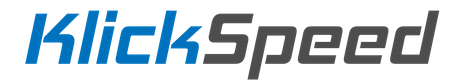 OFFICIAL KLICKSPEED WEBSITE Logo